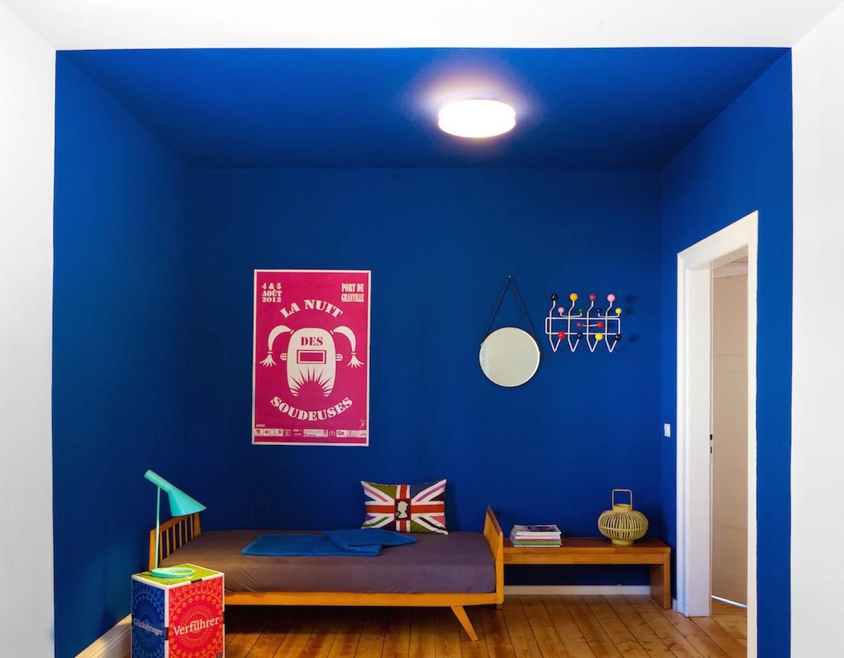DesignApartmentWeimarFerienwohnung1OG14Schlafzimmer