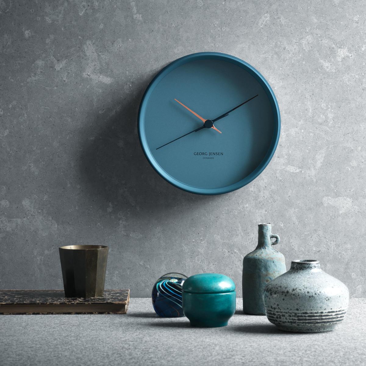 HK-Clock-Graphik-22cm-blau-Ambiente