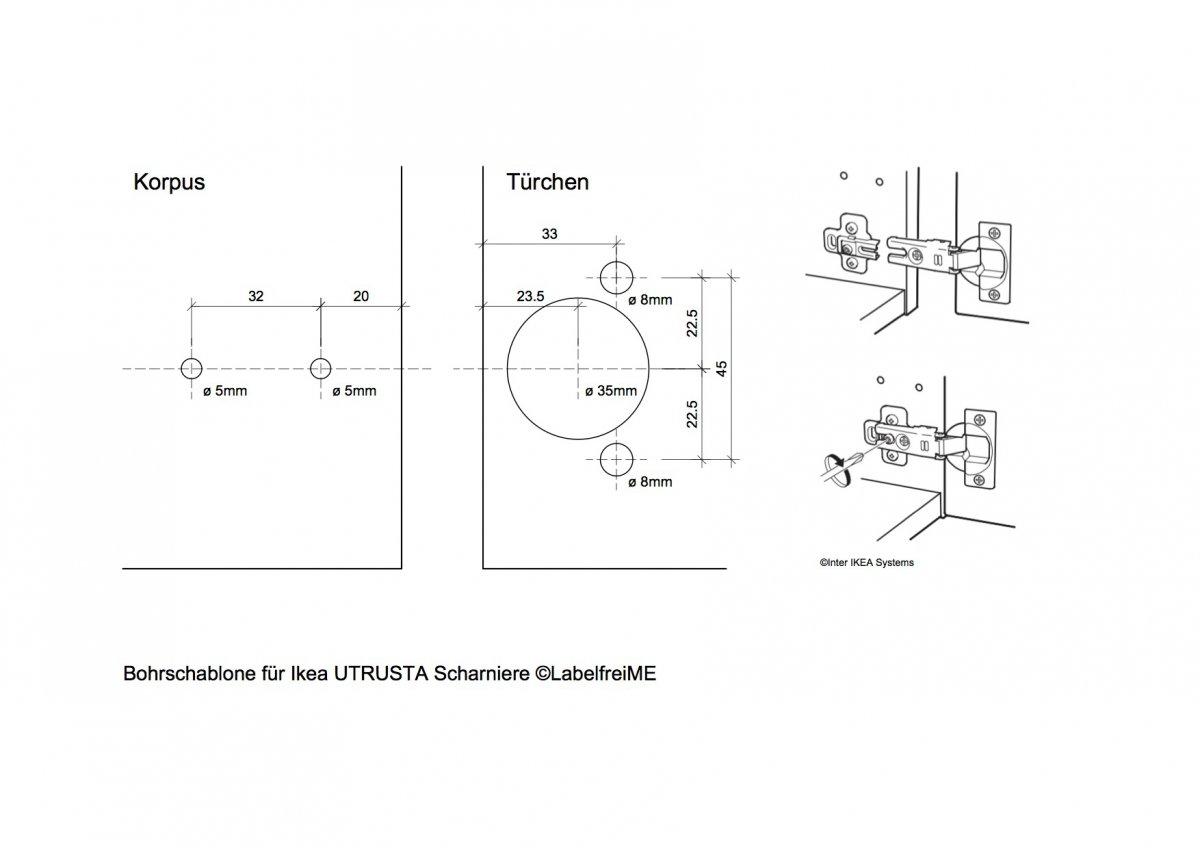 Topfscharnier ikea – Küchengestaltung kleine küche