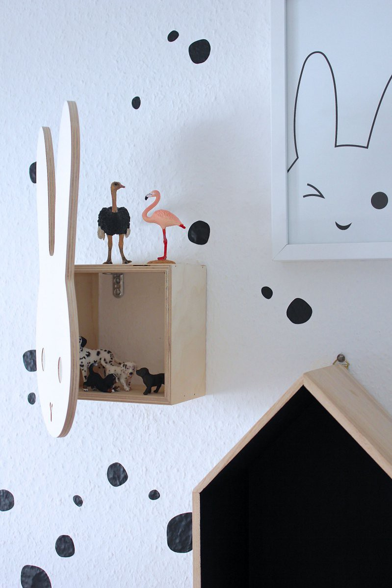 kinderzimmerwandgestaltung mit miffy labelfrei me. Black Bedroom Furniture Sets. Home Design Ideas