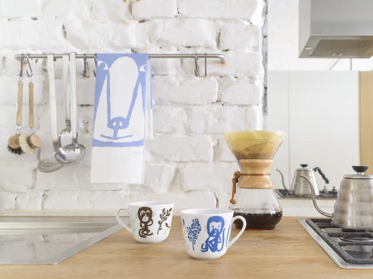 Kauniste+monkey+mugs