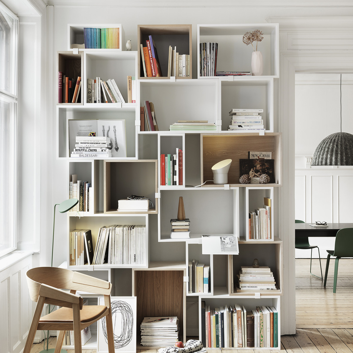 Stacked-Buecher-Ambiente
