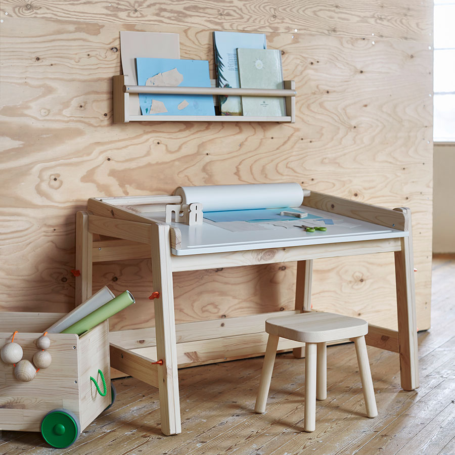 Kinderschreibtisch ikea  Ikea FLISAT | Labelfrei-ME